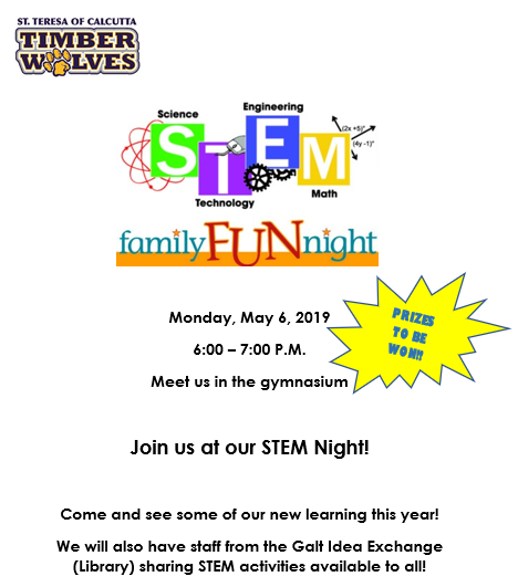 Grade 1 To 8 Open House And Family STEM